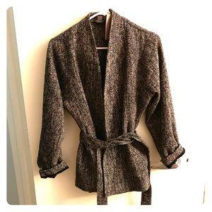 Fashionable tweed blazer